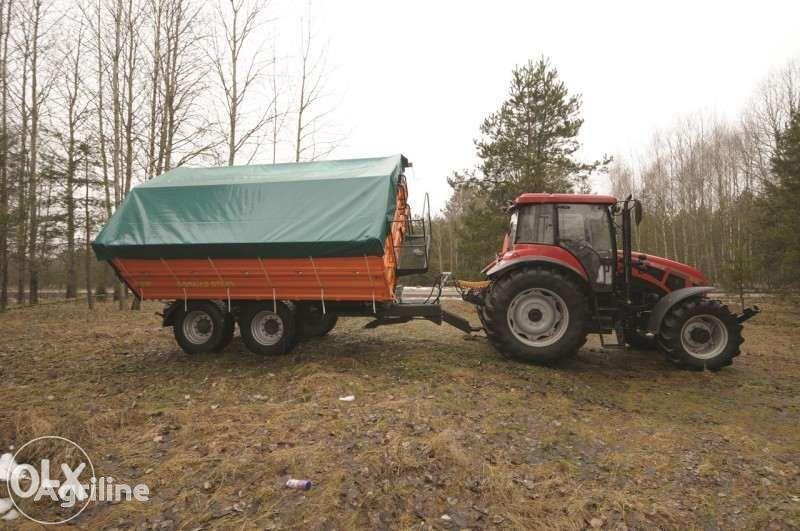 PRONAR  Przyczepa tandem PRONAR PT510 paletowa 10 t / 13,2 m³  vagnar för lantbruk