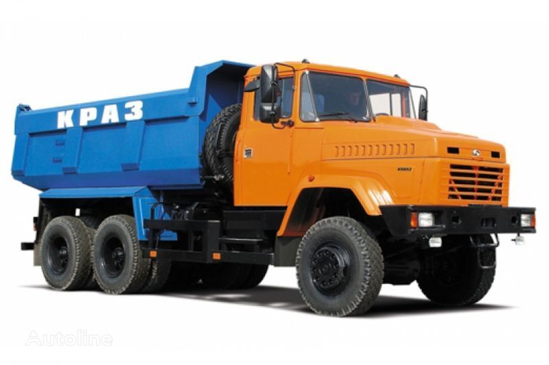 KRAZ 65032 tip 2  tippvagn