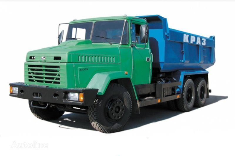 KRAZ 65055 tip 1  tippvagn