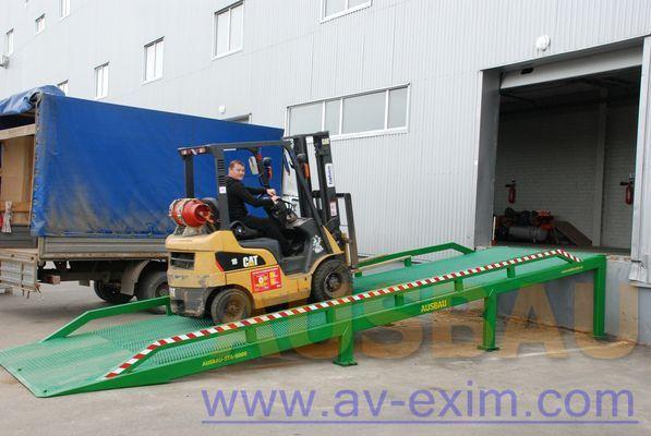ny AUSBAU AUSBAU-ST Fixed ramp , Stacionarnaya rampa , Dock ramp , laadbrug mobil lastramp